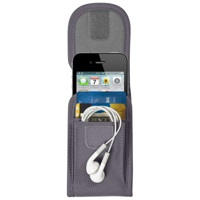 Escort - Universal Case For Portable Media Devices Secures To Backpacks & Messenger Bag Straps