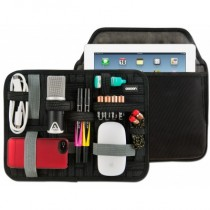 "11"" GRID-IT! Accessory Organizer with Tablet Storage Pocket For Apple iPad"